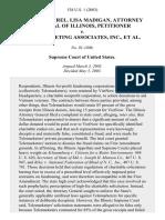 Illinois Ex Rel. Lisa Madigan, Attorney General of Illinois v. Telemarketing Associates, Inc., 538 U.S. 1 (2003)