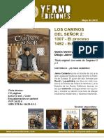 Novedades de Yermo Ediciones para mayo de 2016
