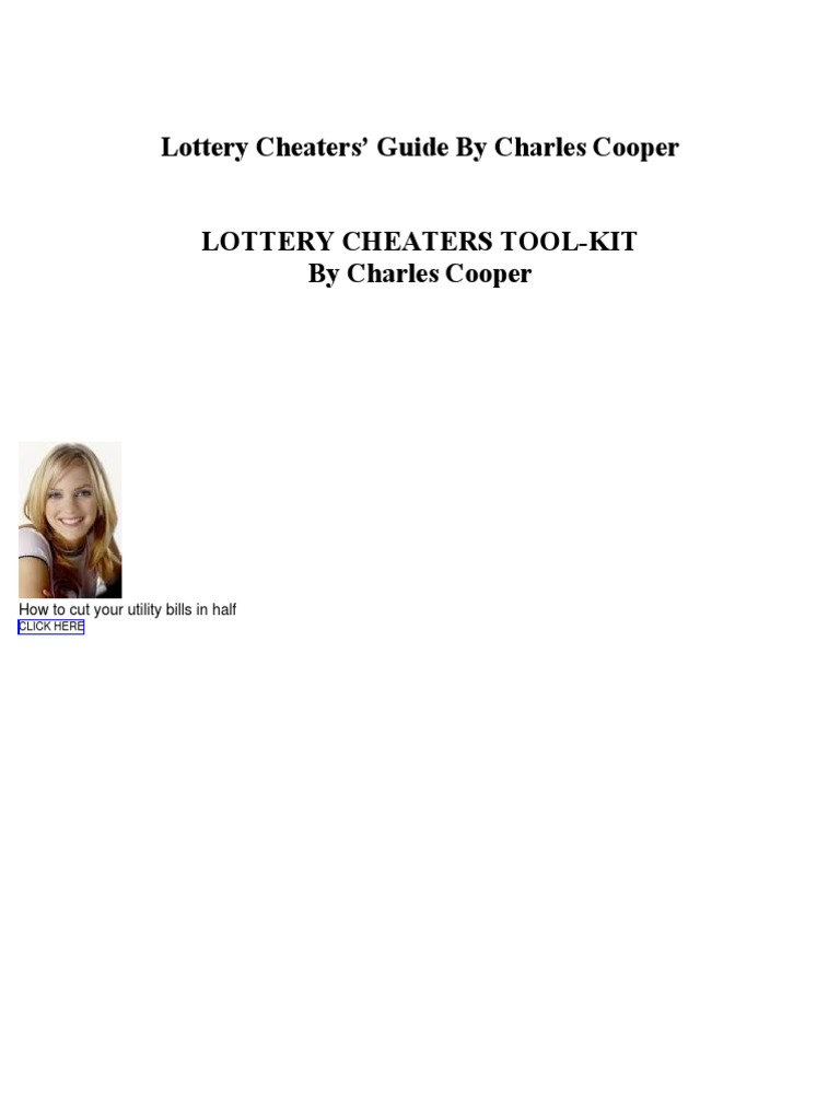 Lottery cheat guide lottery key cryptography fandeluxe Image collections