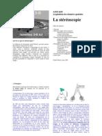 La Stéréoscopie - Claude Parisel