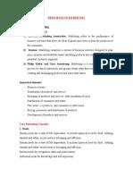 Principles of Marketing 2