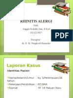 Ppt Rhinitis