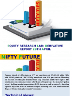 Equity Research Lab 29th April Derivative Report