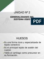 Inst. Quirúrgica - 1º Año - Anatomía - Unidad Nº2 - Generalidades Del Sistema Óseo(1)