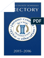 FCOE Directory 2015-16