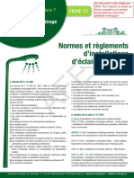 Normes Et Reglements Installation Eclairage Public