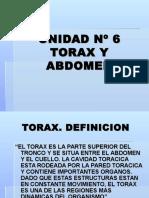 Inst. Quirúrgica - 1º Año - Anatomía - Unidad Nº6 - Tórax y Abdomen