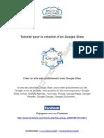 Tutoriel pour la creation d'un site web Google sites