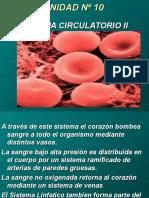 Inst. Quirúrgica - 1º Año - Anatomía - Unidad Nº10 - Circulatorio II
