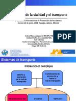 4.....Ingenieria-Vialidad,,Sistema de Transporte