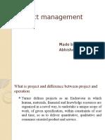 Project Management Test