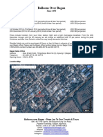 Balloons Over Bagan - Price & Information (2015 - 2016)