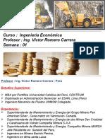 Exposicion para la Semana 01 - Ingenieria Economica.pptx