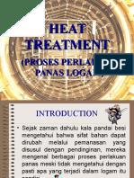 Proses Perlakuan Panas (Heat-treatment)