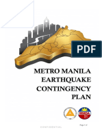 MMDA Earthquake Contingency Plan Oplan Metro Yakal