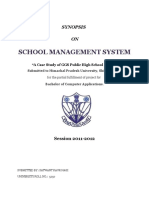 School Management SystemSYNSS