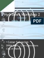 Workshop 2 - Cluster 2