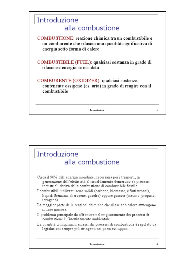 2 - Termodinamica chimica pdf | Combustion | Chemical Reactions