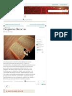 Desgracias Literarias