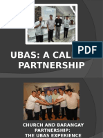 UBAS- Call to Partnership
