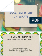 Management Patient Safety ( Prosedur Tindakan Kolaboratif )