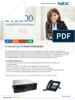 NEC UNIVERGE SV9500 Communication for Government and Enterprise Business