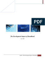 Broadband and Development