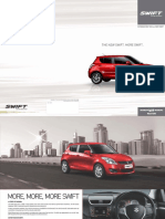 Maruti Suzuki Swift Features by DD Motors
