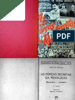 As Forcas Secretas Da Revolução, Maçonaria e Judaismo