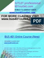 BUS 401 OUTLET Professional Tutorbus401outlet.com