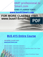 BUS 415 MART Professional Tutor Bus415mart.com