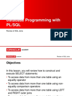 Plsql Appa l3 Review SQL Joins