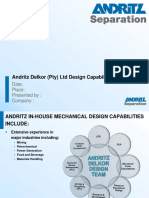 Andritz Delkor Design Capabilities