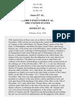 Jones v. Shore's, 14 U.S. 462 (1816)