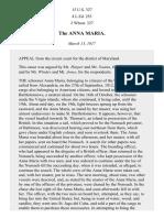 The Anna Maria, 15 U.S. 327 (1817)