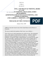 WHITING v. the Bank of the United States, 38 U.S. 6 (1839)