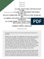 Clark v. Smith, 38 U.S. 195 (1839)