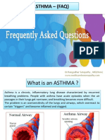 Frequently Asked Question About ASTHMA.