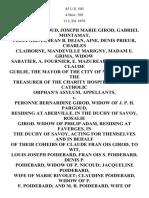 Michoud v. Girod, 45 U.S. 503 (1846)