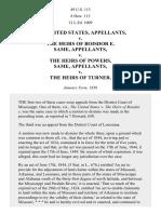 United States v. Boisdore's Heirs, 49 U.S. 113 (1849)