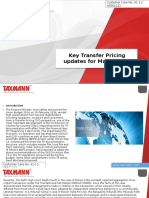 Key Transfer Pricing Updates for March 2016