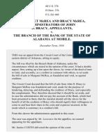 McREA v. Branch Bank of Alabama, 60 U.S. 376 (1857)