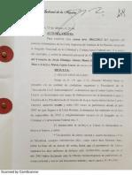Liuzzi - Sobreseimiento dictado por el juez Rodríguez 15Feb2015