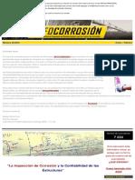 Inspección de la Corrosión y Confiabilidad de las Estructuras
