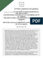 Bronson & Soutter v. LA CROSSE AND MILWAUKEE RAILROAD CO., 68 U.S. 405 (1864)