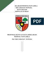 Deklarasi Pemuda Pancasila (Cover) 1