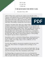 The Fossat Case, 69 U.S. 649 (1864)