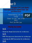 8085 Microprocessor Instruction Set Architecture