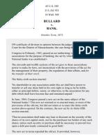 Bullard v. Bank, 85 U.S. 589 (1874)