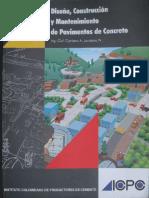 Diseño Control Y Mantenimiento de Pavimentos de Concreto